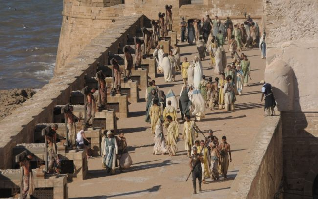 Filming of Games of thrones